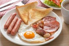Pequeno almoço inglês Imagem de Stock