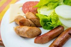 Pequeno almoço inglês fotografia de stock