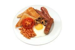 Pequeno almoço inglês cheio Fotos de Stock