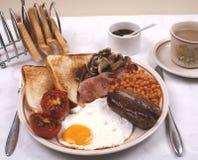 Pequeno almoço inglês cheio Fotografia de Stock