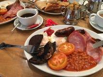 Pequeno almoço inglês cheio Imagens de Stock Royalty Free