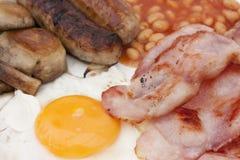 Pequeno almoço inglês do amigo Fotografia de Stock