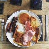 Pequeno almoço irlandês cheio Imagens de Stock