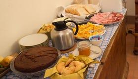 Pequeno almoço italiano Imagem de Stock Royalty Free