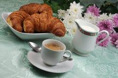 Pequeno almoço italiano fotos de stock
