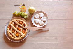 Pequeno almoço italiano imagem de stock