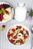 Pequeno almoço Nutritious imagem de stock