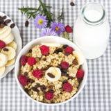 Pequeno almoço Nutritious foto de stock