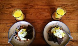 Pequeno almoço para dois Imagem de Stock