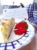 Pequeno almoço romântico Imagem de Stock Royalty Free