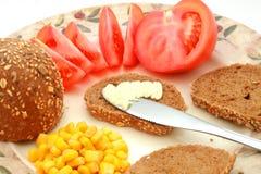 Pequeno almoço saudável Fotografia de Stock Royalty Free