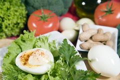 Pequeno almoço saudável Imagens de Stock Royalty Free