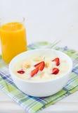 Pequeno almoço saudável Foto de Stock Royalty Free