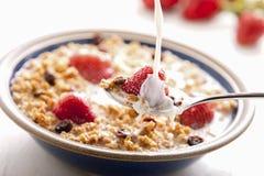 Pequeno almoço saudável. Imagens de Stock