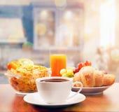 Pequeno almoço saudável fotos de stock royalty free