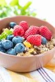 Pequeno almoço saudável do vegetariano Imagens de Stock Royalty Free