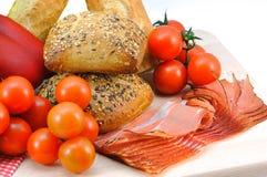 Pequeno almoço saudável e nutritious fotografia de stock
