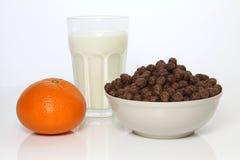 Pequeno almoço saudável e saboroso Fotografia de Stock Royalty Free