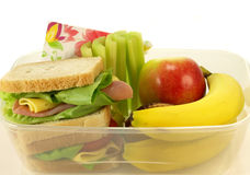 Pequeno almoço saudável, isolado Imagem de Stock