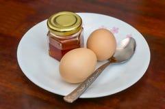 Pequeno almoço simples Imagens de Stock Royalty Free