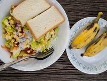 Pequeno almoço tropical. Fotos de Stock
