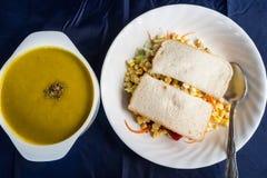 Pequeno almoço tropical. Imagem de Stock Royalty Free