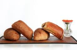 Pequeno almoço, viennoisery Imagem de Stock