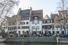 Pequeno França Strasbourg, França Foto de Stock