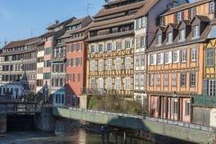 Pequeno França Strasbourg, França Imagem de Stock