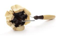 Pequeno jogo do cortador de quatro formas Fotos de Stock Royalty Free