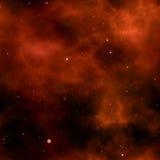 Pequeno protagoniza em um céu em fundos da cor do espaço Imagem de Stock Royalty Free