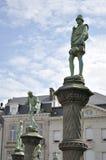 Pequeno Sablon em Bruxelas (Bélgica) Foto de Stock Royalty Free