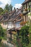 Pequeno Veneza em Colmar, France Foto de Stock Royalty Free