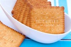 Pequenos biscoitos de Beurre Fotos de Stock