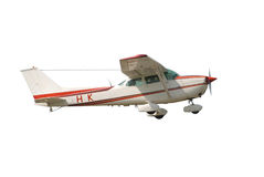Pequeño aeroplano Fotos de archivo