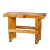 Pequeño banco de madera Fotografía de archivo