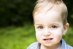 Pequeño bebé Fotos de archivo