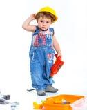 Pequeño constructor. Fotografía de archivo libre de regalías
