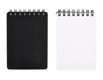 Pequeño cuaderno del bolsillo de la escritura aislado Foto de archivo