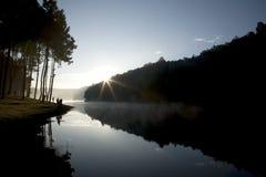 Pequeño lago nature Fotografía de archivo