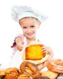 pequeño panadero Imágenes de archivo libres de regalías