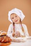Pequeño panadero lindo Imagen de archivo libre de regalías