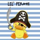 Pequeño pirata Imagenes de archivo