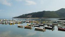 Pequeño puerto deportivo Imagenes de archivo