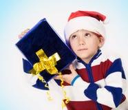 Pequeño Santa Imagen de archivo libre de regalías