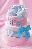Pequeños botines del bebé Fotografía de archivo libre de regalías