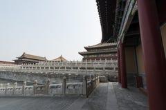 Pequim China da Cidade Proibida da área de deterioração Fotos de Stock