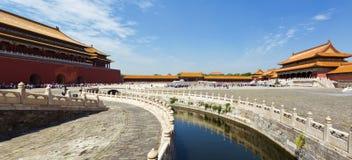 Pequim, a Cidade Proibida Imagens de Stock Royalty Free