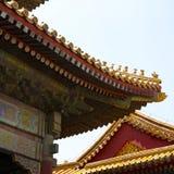Pequim, a Cidade Proibida Foto de Stock