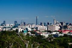 Pequim Cityview Fotos de Stock Royalty Free